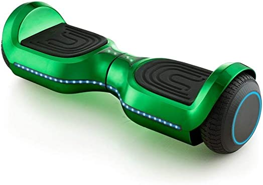 New 6.5 Hoverboard with Front and Back LED Lights and Bluetooth Speaker Smart Self Balance Scooter- Assorted Colors