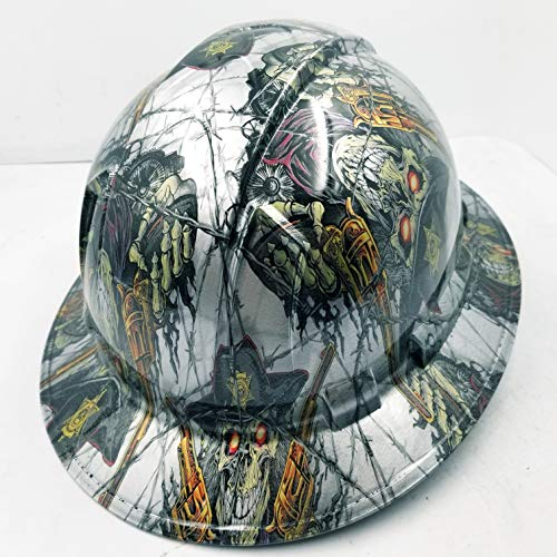 Wet Works Imaging Customized Pyramex Full Brim Dirty Dirty Harry Hard HAT with Ratcheting Suspension Custom LIDS Crazy Sick Construction PPE by Wet Works Imaging (Image #3)