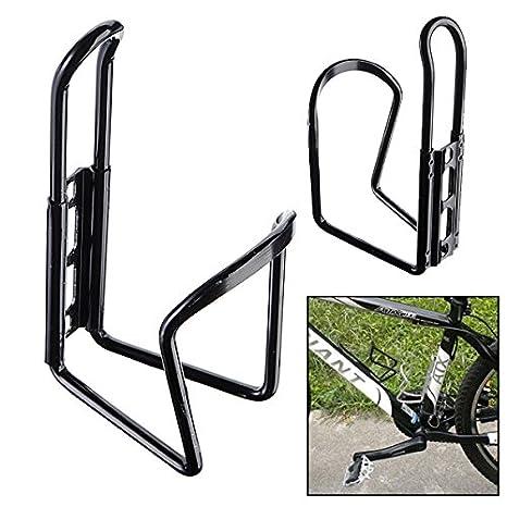 LaDicha Aluminio Bicicleta Bicicleta Agua Botella Porta Rack Jaula ...