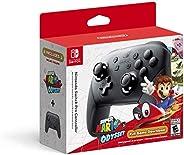 Controle Nintendo Switch Pro com Super Mario Odyssey