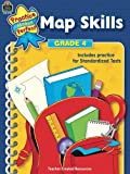 Map Skills Grade 4 (Practice Makes Perfect)