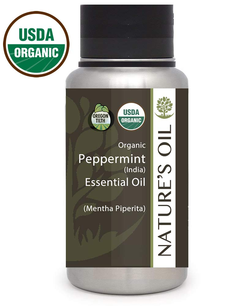 Best Peppermint Essential Oil Pure Certified Organic Therapeutic Grade 1Lb