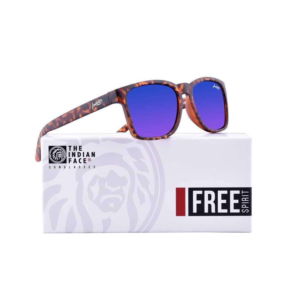 55 Mixte Adulte Marron The Indian Face Free Spirit Tortoise Montures de lunettes