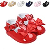 Meckior Infant Baby Girls Soft Sole Bowknot