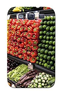 For SamSung Galaxy S3 Case Cover Grocery Store Pattern, Nice For Lover's Gift