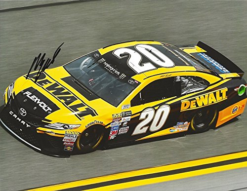 AUTOGRAPHED 2017 Matt Kenseth #20 DeWalt Racing Team MEDIA DAY FINAL SEASON (Joe Gibbs Toyota Camry) Monster Energy Cup Series Signed Collectible Picture NASCAR 9X11 Inch Glossy Photo with ()