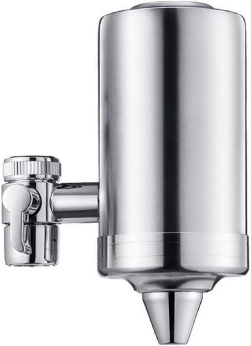 Inicio Uso Purificador de agua Calidad de agua Filtro de agua Sistema de filtro de faucet 304 Acero inoxidable, pequeño, grande DDLS (Color : Large, Size : -)