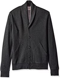 Dockers Men's Long Sleeve Shawl Collar Button Front Cardigan