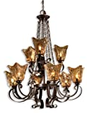 Uttermost 21005 Vetraio 9-Light Chandelier, Oil Rubbed Bronze Finish Review