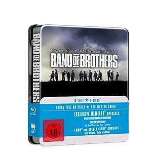 Band Of Brothers – Wir waren wie Brüder [Blu ray] für 23€ & The Pacific [Blu ray] für 17,99€