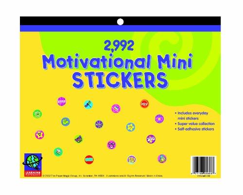 Jumbo Books Sticker (Eureka Jumbo Mini Motivational Sticker Book 2992 Count)