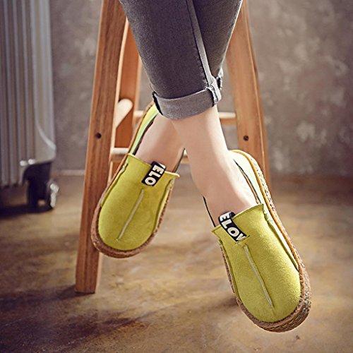 Loafers Sko Late Flats Stil Myke Uformelle Skli Sko Damene Transer Fritid Grønne På Kvinner Arbeids 7vOqnwg