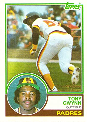 1983 Topps Baseball #482 Tony Gwynn Rookie Card 1983 Tony Gwynn Rookie Card