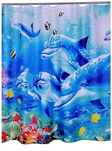 chunyi-blue-sea-world-coral-dolphin-printed-waterproof-shower-curtain-liners-7272