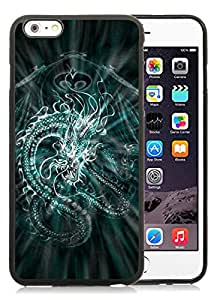 New Fashion Custom Designed Cover Case For iPhone 6 Plus 5.5 Inch With Chinese Dragon Black Phone Case