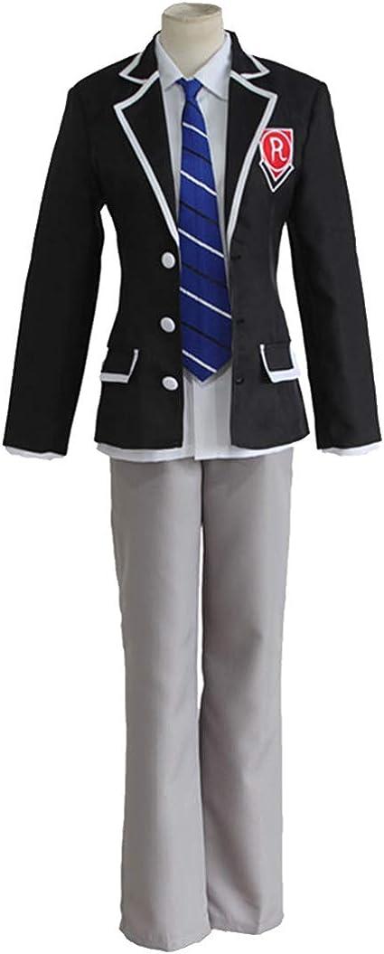 ZY Traje De Anime Uniforme Escolar Negro Pantalones Negros ...
