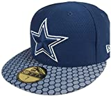 New Era Dallas Cowboys NFL 17 Sideline 59fifty 5950 Fitted Cap Limited Edition