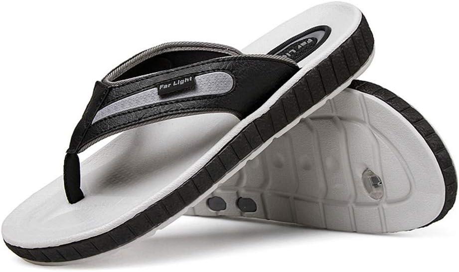 DYFAR Sandalias ortopédicas para Hombre Chancletas Arco de Apoyo Elegantes Sandalias Playa Confort Zapatillas para Piscina Playa Fascitis Plantar Alivio