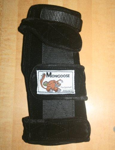 "Mongoose ""Optimum"" bowling Wrist Support Right hand, Large, Black"