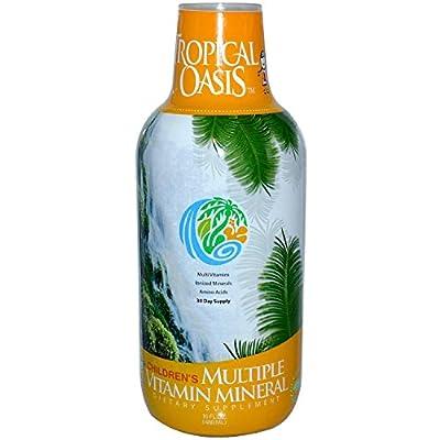 Tropical Oasis Children's Multiple Vitamin Mineral 16 fl oz
