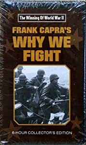 Frank Capra's Why We Fight (The Winning of World War II) (VHS Tape)