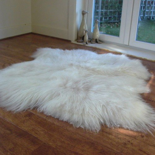 Icelandic Sheepskin Rug - Natural Double - 2 Skin