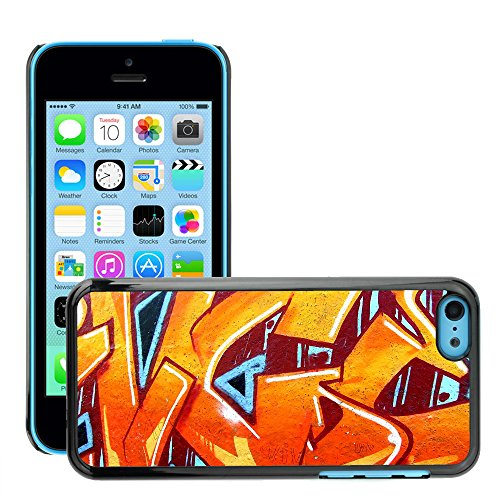 Premio Sottile Slim Cassa Custodia Case Cover Shell // V00002299 Graffiti // Apple iPhone 5C