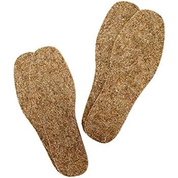 Amazon.com: Wool Felt Warm Insoles,Felt Insoles for Boots