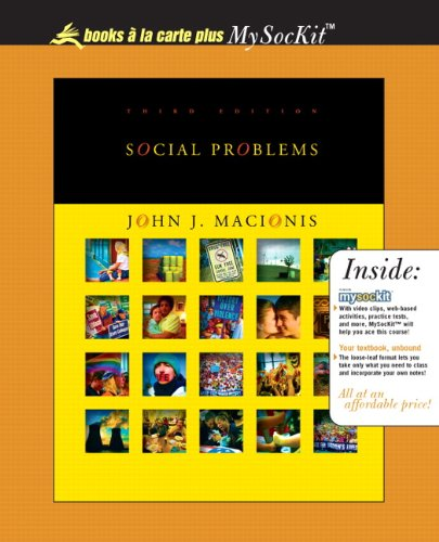 Social Problems, Books a la Carte Plus OneKey CourseCompass (3rd Edition)