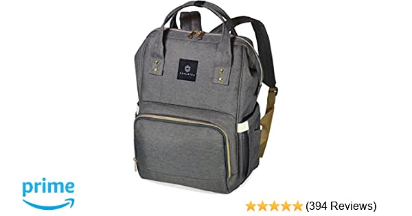 e0747f058ea5 Amazon.com   Soulsten Diaper Bag Backpack