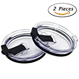 True Leak splash spill proof Lid for Yeti RTIC and other tumblers (20oz, 2 Pack)