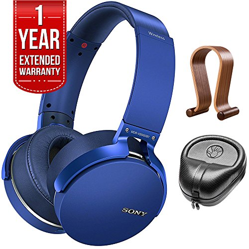 Sony XB950B1 Extra Bass Wireless Headphones with App Control Blue 2017 model...