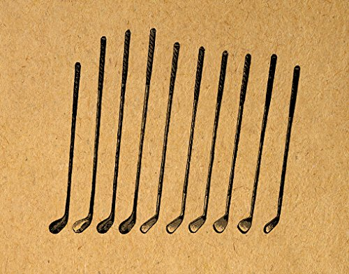 Vintage Golf Clubs Print Golf Wall Art for Home Decoration Antique Style or Poster