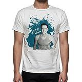 Palalula Men's Basketball Minneapolis Lakers George Mikan Tribute T-Shirt L White
