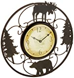 FirsTime 11'' Wildlife Wire Wall Clock