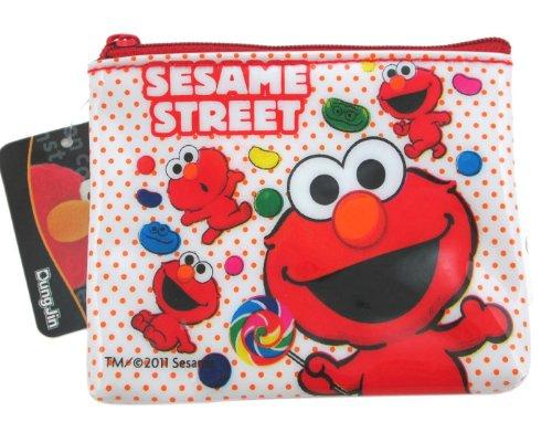 - White Elmo Coin Purse - Elmo Change Purse