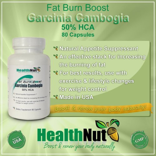 Garcinia Cambogia 50% HCA Fat Burn Boost by HealthNut Natural Appetite Suppressant and Men 2016 Unique Cool Birthday Clearance Sale Christmas Gift Idea