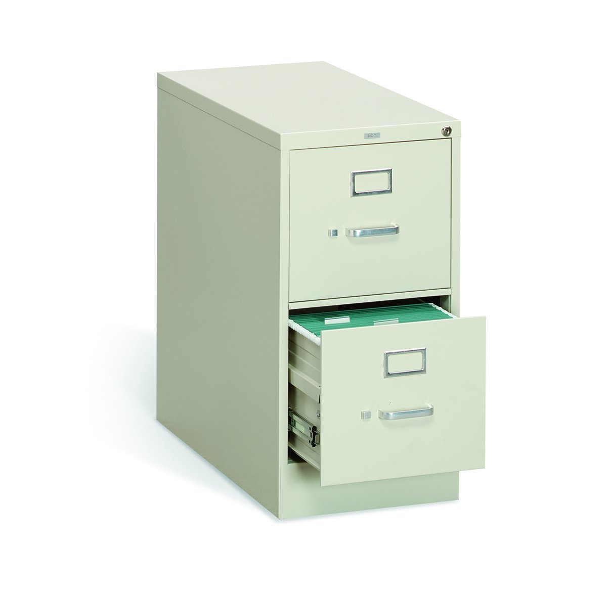 HON The Company P.L HON312PL 310 Series Vertical File Cabinet Letter Width, 2 Drawers, Putty (H312),