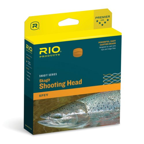 - Rio Fly Fishing Fly Line Maxi-Short Shad 325gr Fishing Line, Teal/Orange