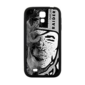 Abstract Oakland Raiders Design Plastic Case Cover For Samsung Galaxy S4