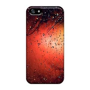Hot WsHwi2554SasTi Orange Rainy Grass Tpu Case Cover Compatible With Iphone 5/5s