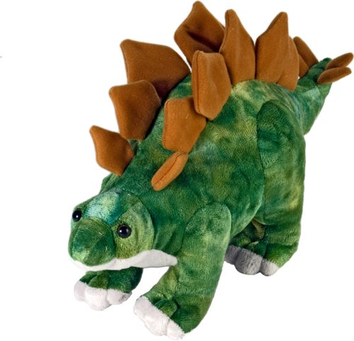 Wild Republic Stegosaurus Plush, Dinosaur Stuffed Animal, Plush Toy, Gifts Kids, Dinosauria 10 (Dinosaur Stuffed Plush)
