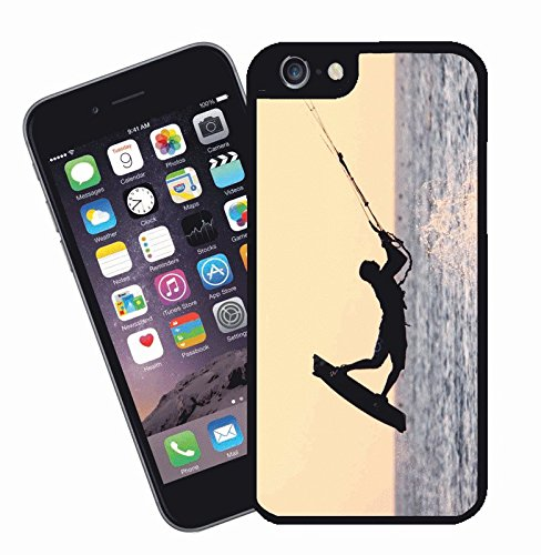 Kiteboarding - This cover will fit Apple model iPhone 7 (not 7 plus) - By Eclipse Gift Ideas