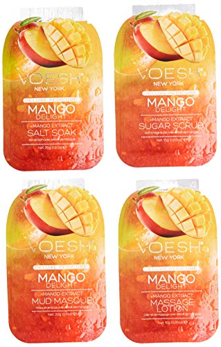 VOESH Pedi In A Box Deluxe 4 Step, Mango Delight