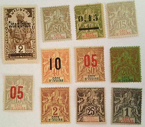 FRANCE COLONY IVORY COAST STAMPS MINT/NH.. ..WORLDWIDE STAMPS