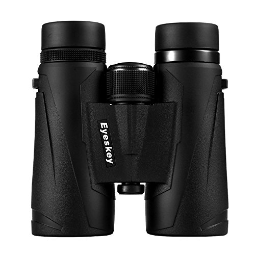 Eyeskey 10x42 Professional Waterproof Binoculars for Adults, Best Choice for Travelling, Hunting, Sports Games and Outdoor Activities, Extremely Clear and Bright