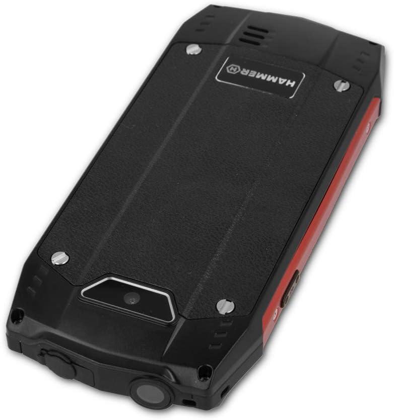 MYPHONE Hammer 4 Rojo MÓVIL Resistente IP68 Dual SIM 2.8 TFT ...