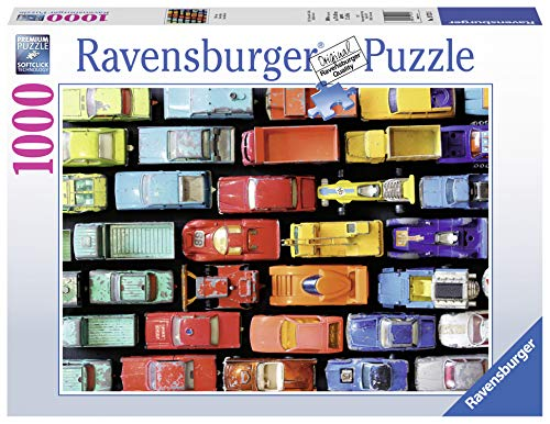 Ravensburger Traffic Jam 1000 Piece Jigsaw Puzzle Adults – Every Piece is Unique, Softclick Technology Means Pieces Fit Together Perfectly