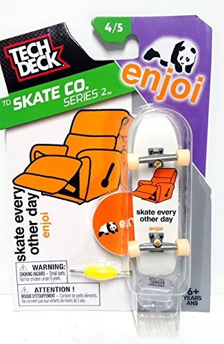 Tech Deck TD Skate Co. Series 2 Enjoi Fingerboard 4/5 Skate