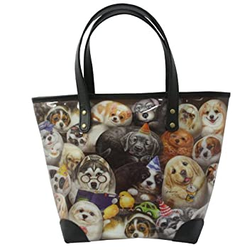 983b2ad89 Amazon.com: Premium PVC Tote Bag -Henry Cats & Friends - Henry Dogs:  Xcellence Deals